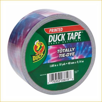 Duck 48mmx10y Tie Dye Blue (PACK)