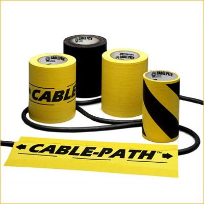 Cable Path (4 Inch) - BK, YL, BK/YLW (Roll)