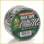 Duck 48mmx10y Zebra (PACK)