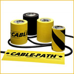 Cable Path (4 Inch) - BK, YL, BK/YLW (Roll)