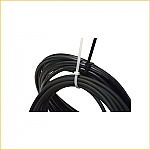 """7"""" Cable Ties Clear/Natural (10M) (Case)"""
