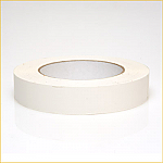 "FP 17 1"" White Flat Backed Tape"